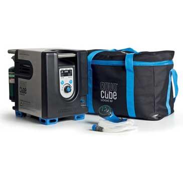 aqua cube lithium portable camping shower bag
