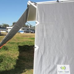 awning privacy sun screen caravan side