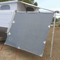 awning privacy sun screen pop top side