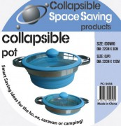 collapsible silicone pot