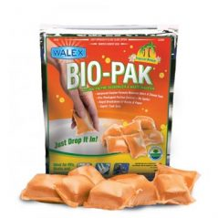 Walex BioPak portable casette toilet dissolvable additives, 15 pack Tropical breeze