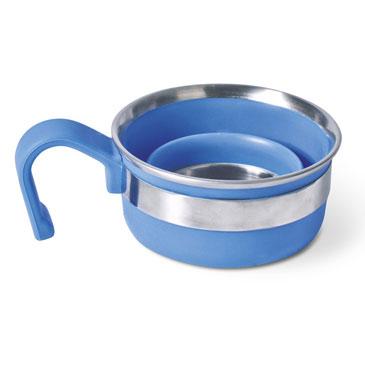 Companion popup silicone compact blue mug comp310bl