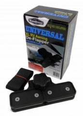 Universal awning deflapper for caravan motorhome and pop top awnings