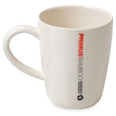 Primus Bamboo Mug - Cream. Environmentally friendly, high quality feel.