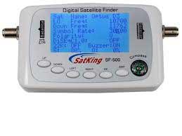 Premium satellite finder digital lcd screen