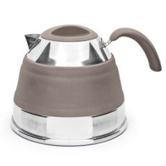 PopUp silicone collapsible kettle, 1.5L latte open