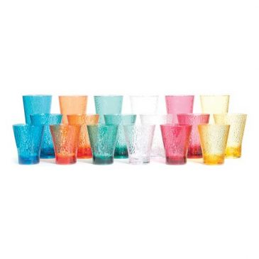 Tritan coloured tumbler full range small medium large colours drinking glass