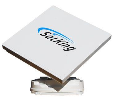 Satking promax automatic satellite for caravans buses motorhomes skew. Vast and Foxtel.